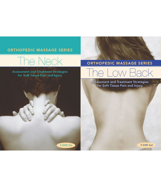 Orthopedic Massage Series: Neck & Low Back 10 DVD Video Set - Ben Benjamin
