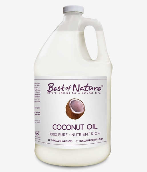 Best of Nature 100% Pure Coconut Oil - Half Gallon