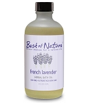 Best of Nature 100% Pure French Lavender Herbal Bath Oil - 4oz