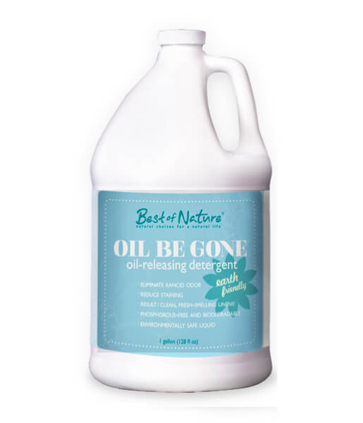 Best of Nature Oil Be Gone Liquid Laundry Detergent & Stain Remover - Gallon