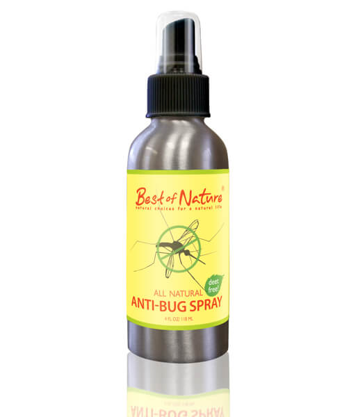 Best of Nature 100% Natural Anti Bug & Insect Repellent Spray - 4oz