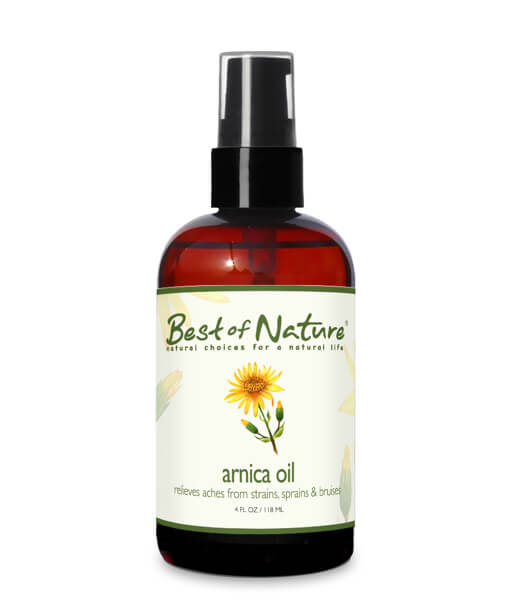 Best of Nature Arnica Oil - 4oz