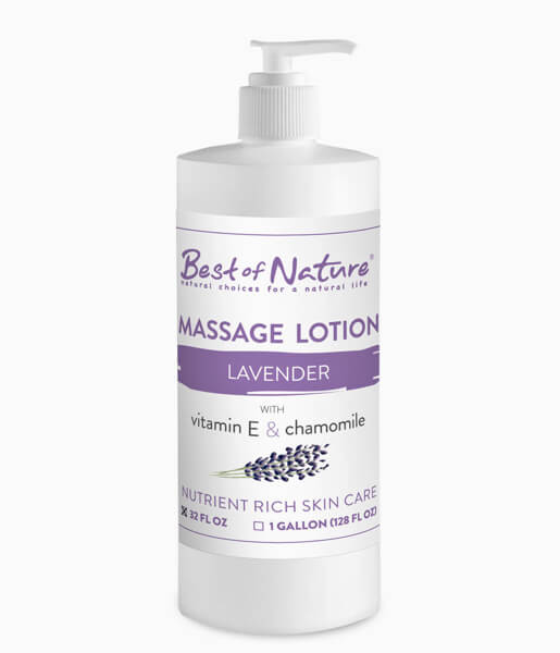 Best of Nature Lavender Massage Lotion - 32oz