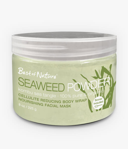Best of Nature 100% Pure & Organic Kombu Seaweed Powder - 8oz