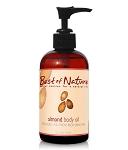 Best of Nature 100% Pure Almond Massage & Body Oil - 8oz