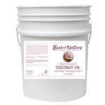 Best of Nature 100% Pure Fractionated Coconut Oil - 5 Gallons