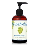 Best of Nature 100% Pure Grapeseed Massage & Body Oil - 8oz