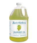 Best of Nature 100% Pure Grapeseed Massage & Body Oil - Half Gallon