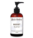 Best of Nature 100% Pure Budget Blend Massage Oil - 8oz