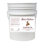Best of Nature 100% Pure Almond Massage & Body Oil - 5 Gallon Pail