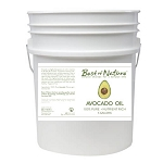 Best of Nature 100% Pure Avocado Body Oil - 5 Gallon Pail