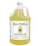 Best of Nature 100% Pure Avocado Massage & Body Oil - Gallon
