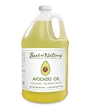 Best of Nature 100% Pure Avocado Body Oil - Half Gallon