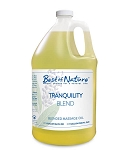 Best of Nature Tranquility Blend Massage Oil - Half Gallon