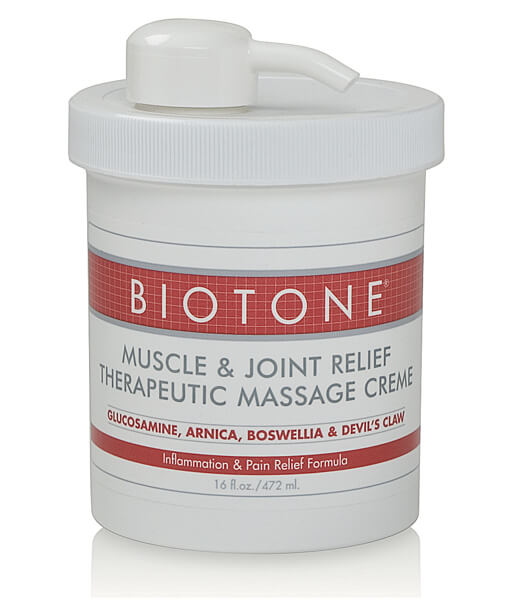 Biotone Muscle & Joint Massage Cream - 16oz