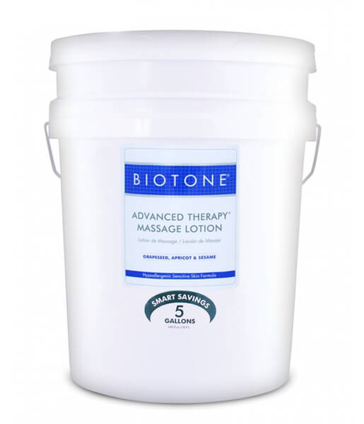 Biotone Advanced Therapy Massage Lotion - 5 Gallons