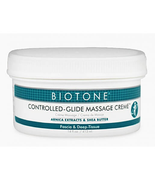 Biotone Controlled Glide Massage Cream - 14oz