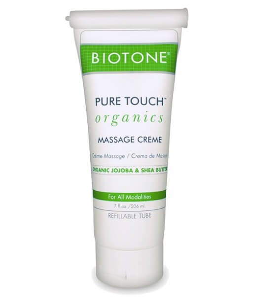 Biotone Pure Touch Organics Massage Cream - 7oz Tube
