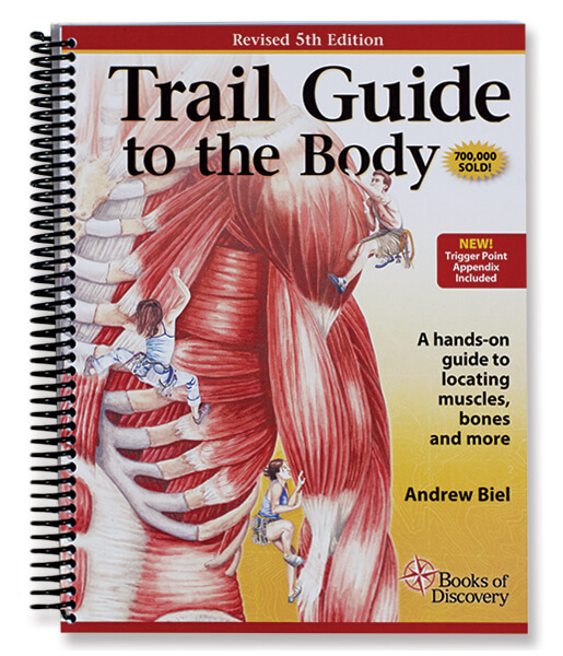 Trail Guide To The Body Anatomy & Palpation Textbook - 5th Edition