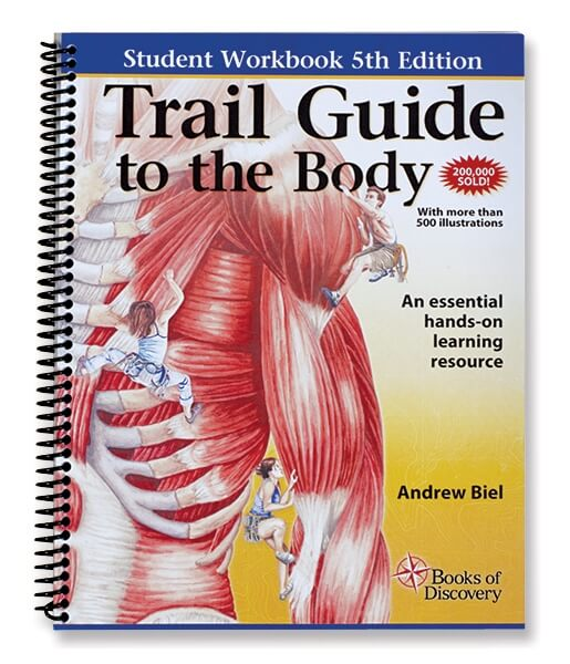 Trail Guide To The Body Anatomy & Palpation Student Workbook - 5th Edition