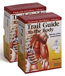 Trail Guide To The Body Anatomy & Palpation Flash Card Set V1 & V2 - 5th Edition