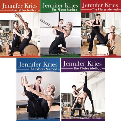Pilates Master Trainer Series 5 Video DVD Set - Jennifer Kries