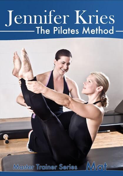 Pilates Mat Master Trainer Series Video on DVD - Jennifer Kries