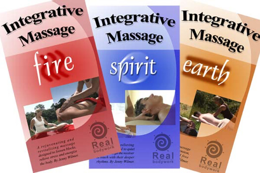 Integrative Massage Earth Fire Spirit 3 DVD Video Set - Real Bodywork
