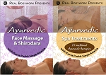 Ayurvedic Face Massage & Spa Techniques Shirodhara 2 DVD Video Set - Real Bodywork