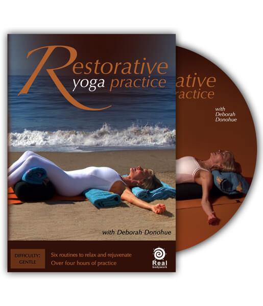 Restorative Yoga Practice Exercise Video On DVD - Real Bodywork