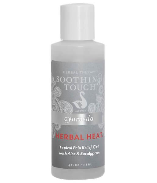 Soothing Touch Herbal Heat Pain Relief Gel - 4oz