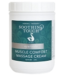 Soothing Touch Muscle Comfort Massage Cream - 62oz