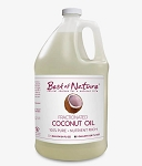 Best of Nature 100% Pure Fractionated Coconut Oil - Gallon