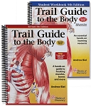 Trail Guide Anatomy & Palpation Textbook & Student Workbook Set - 5th Edition