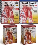 Trail Guide Anatomy & Palpation Textbook Student Workbook Flash Card Set - 5th Edition