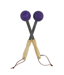 Bongers Handheld Percussive Massage Therapy Tool - Purple