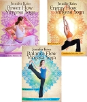 Balance Energy Power Flow Vinyasa Yoga 3 DVD Video Set - Jennifer Kries