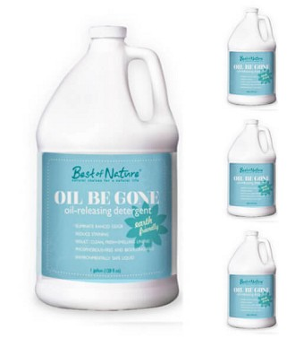 Best of Nature Oil Be Gone Liquid Laundry Detergent & Stain Remover - 4 Gallon Case