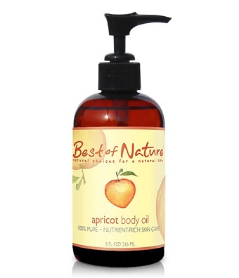 Best of Nature 100% Pure Apricot Kernel Massage & Body Oil - 8oz
