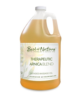Best of Nature Arnica Therapeutic Blend Massage Oil - Gallon