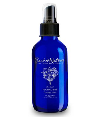 Best of Nature Floral Bliss Essential Oil Aroma Mist & Room Spray - 4oz