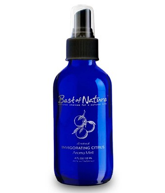 Best of Nature Invigorating Citrus Essential Oil Aroma Mist & Room Spray - 4oz