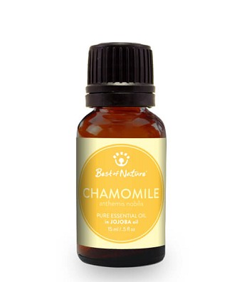 Best Of Nature Roman Chamomile Essential Oil Blended w Jojoba - 1/2oz (15ml)
