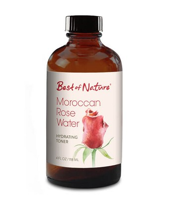 Best of Nature 100% Pure Moroccan Rose Water Hydrating Toner  - 4oz