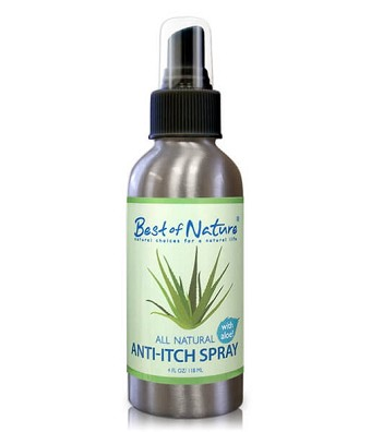 Best of Nature 100% Natural Anti Itch Spray - 4oz
