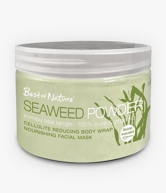 Best of Nature 100% Pure & Organic Kombu Seaweed Powder - 2lb Spa Size