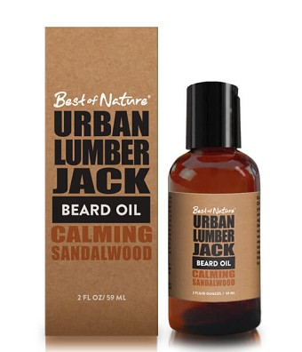 Urban Lumberjack Calming Sandalwood Beard Oil - 2oz