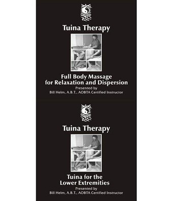 Tuina Massage Full Body & Lower Extremities 2 Video Set on DVD - Bill Helm