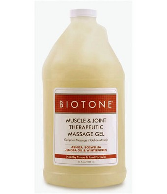 Biotone Muscle & Joint Massage Gel - Half Gallon