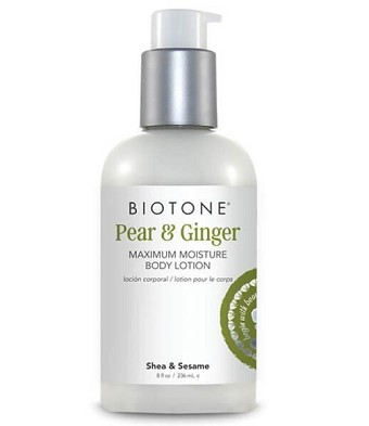 Biotone Maximum Moisture Body Lotion 8oz - Pear & Ginger